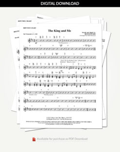 king-and-me-rhythm-charts-stack