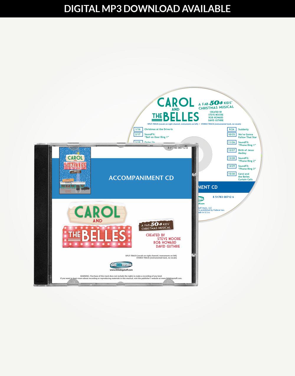 Carol and the Belles Accompaniment Tracks