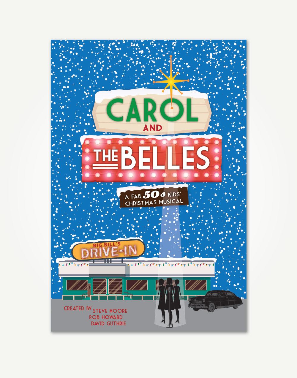 Christmas Carol Musical Script.Carol And The Belles Choral Book