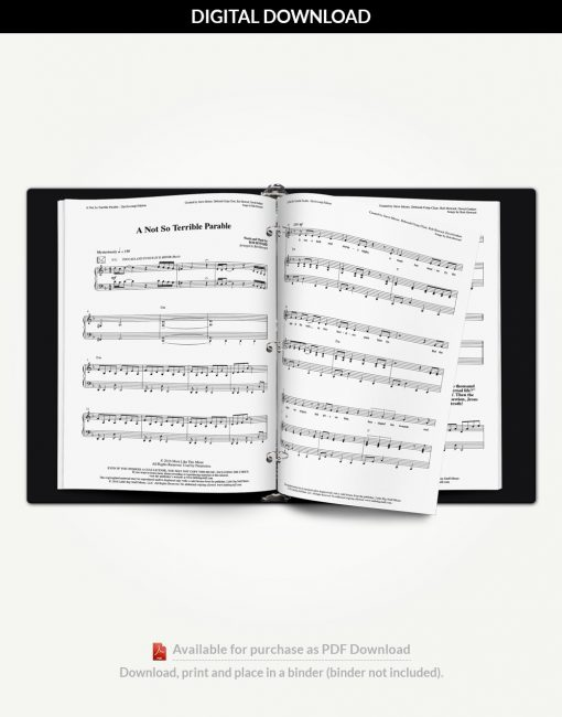 a-not-so-terrible-parable-accompanist-score-binder-inside