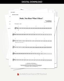 dude-you-hear-rhythm-charts-stack