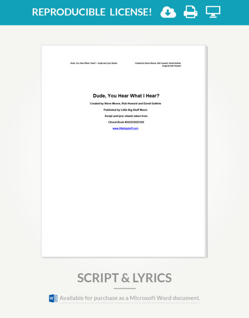 dude-you-hear-what-i-hear-script-and-lyrics-cover-page