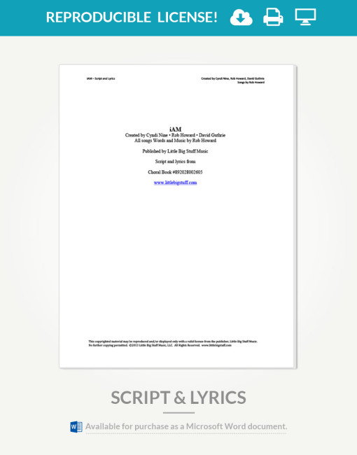 iam-script-and-lyrics-cover-page