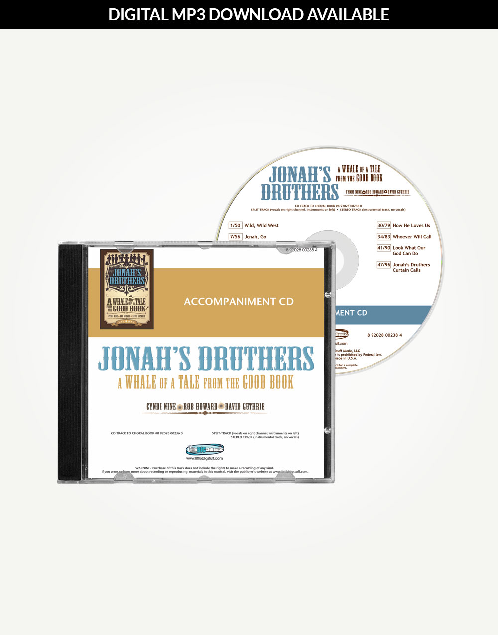 Jonah's Druthers Accompaniment Tracks