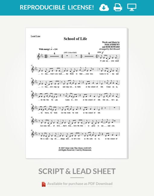 life-school-musical-lead-sheet-inside-page