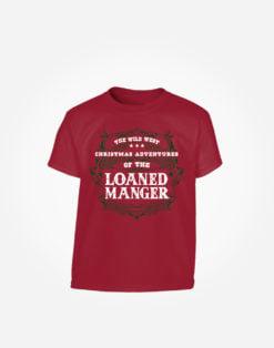 loaned-manger-kids-t-shirt