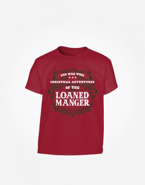 loaned-manger-kids-t-shirt