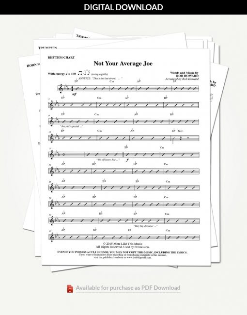 not-your-average-joe-rhythm-charts-stack