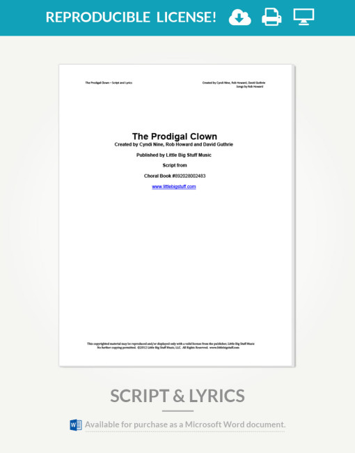 prodigal-clown-script-and-lyrics-cover-page