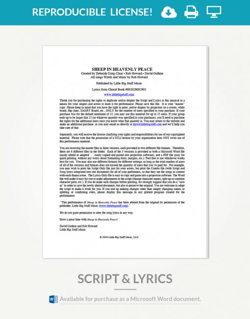 sheep-in-heavenly-peace-script-and-lyrics-cover-page